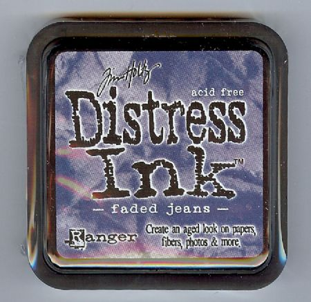 Tim Holtz Distress Ink Pad from Ranger - Faded Jeans